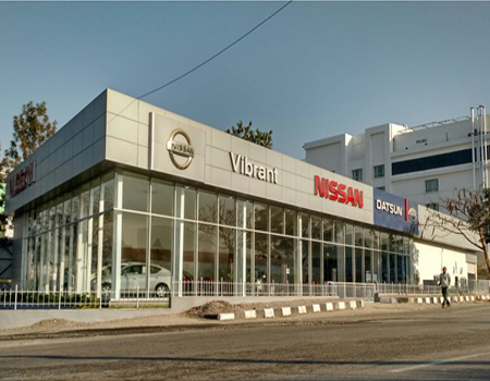 Automobile Showroom for NISSAN